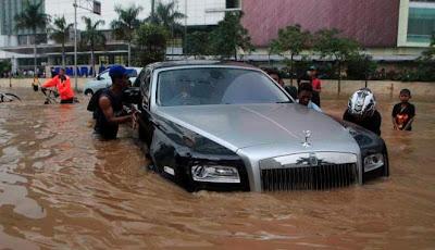 Foto Terbaru Pantauan Banjir Jakarta 2013