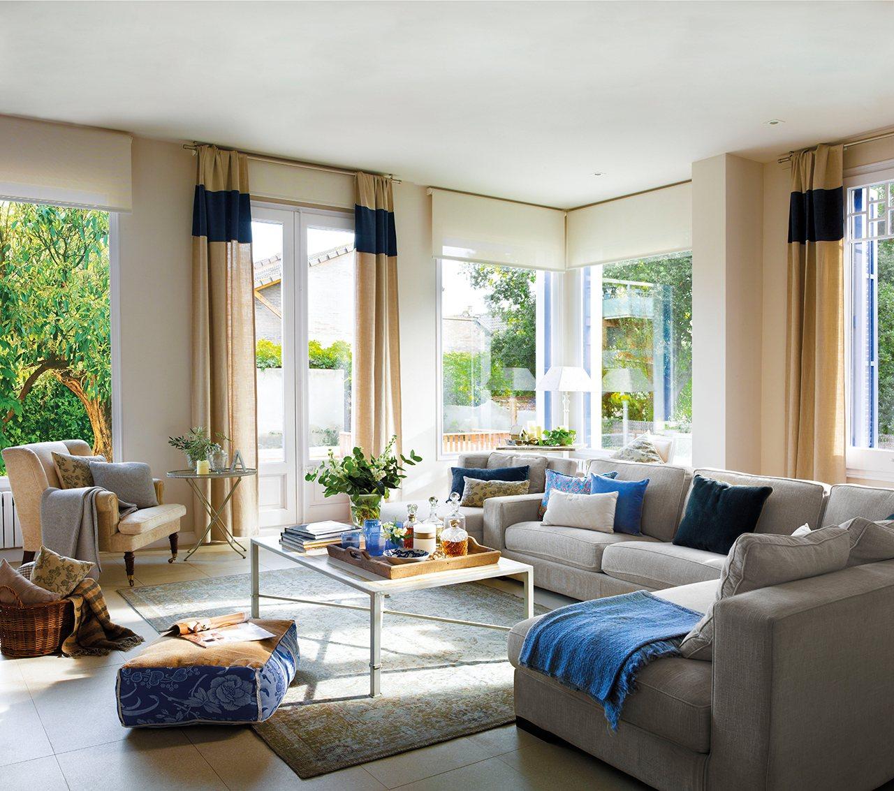 Blog achados de decora o decora o em azul e branco a - Ver decoracion de salones ...