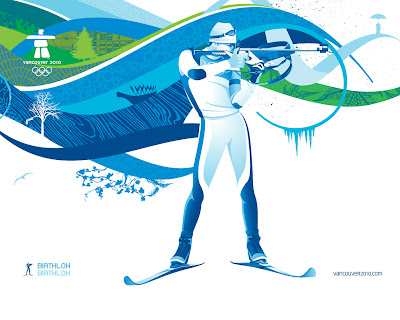 Free Vancouver 2010 Olympic Winter Games PowerPoint Background 30