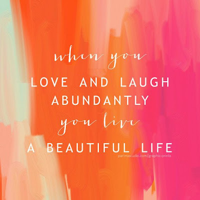Laughter, life, quote