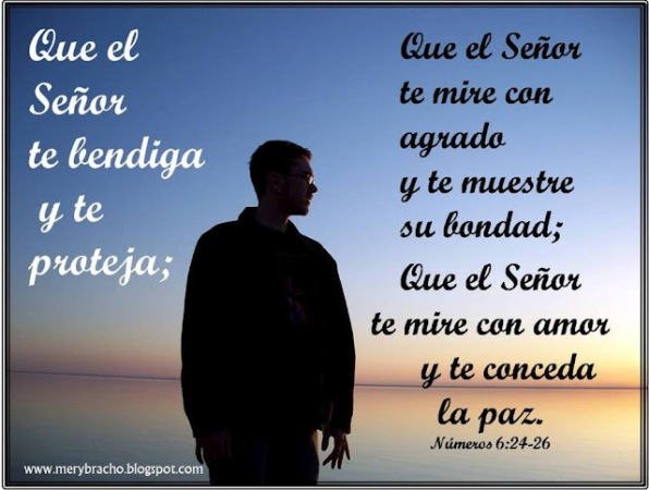 Postal Que el Señor te mire con amor.Busca al Señor y te dará paz. Postales cristianas. Postales con versículos bíblicos, de la Biblia para amigos
