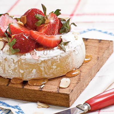 strawberry brie