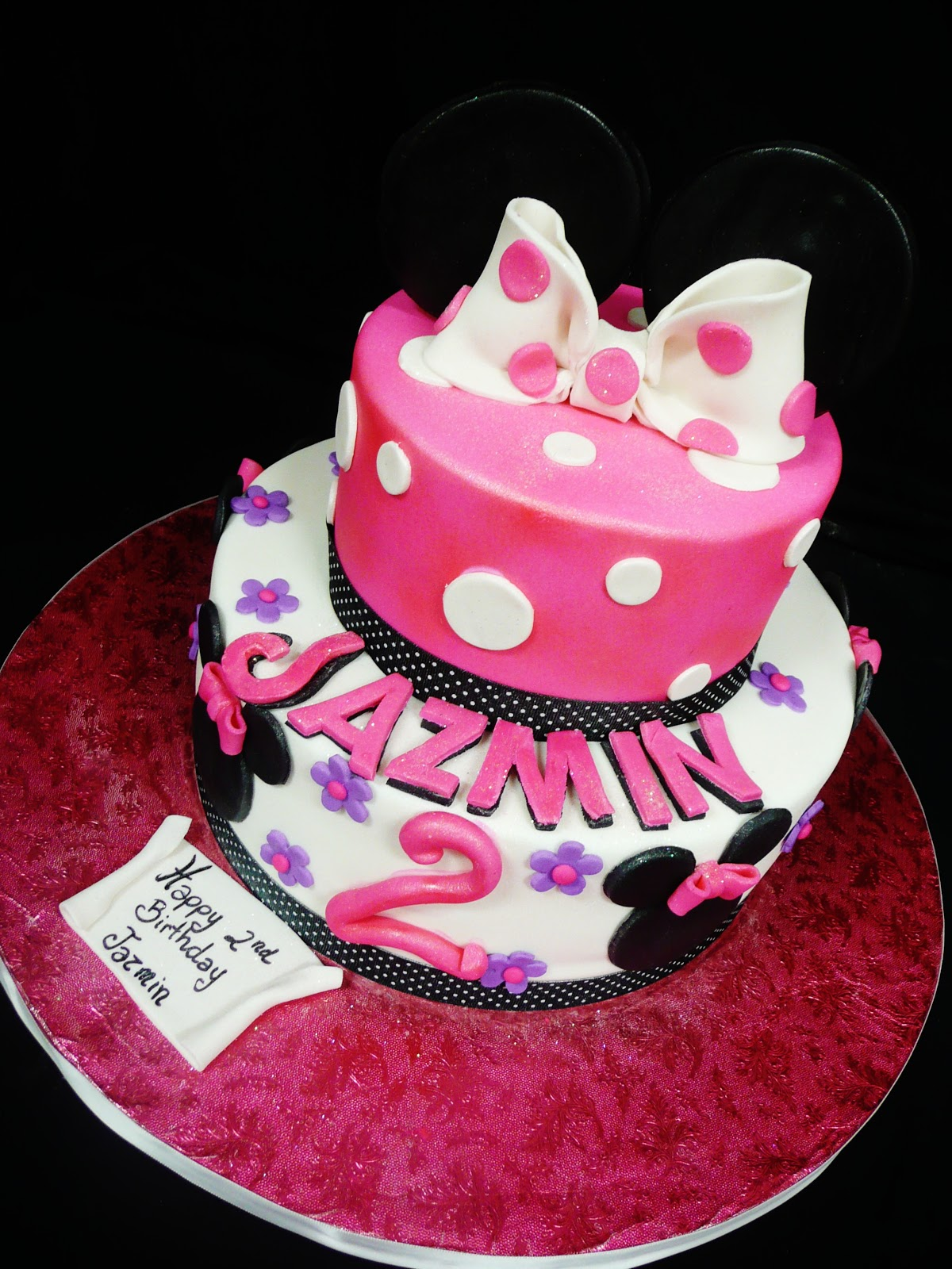 birthday cakes minnie mouse image inspiration of cake and baking with roxanas cakes minnie mouse themed birthday cake