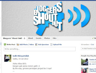 Organisasi Blogger Shout Out