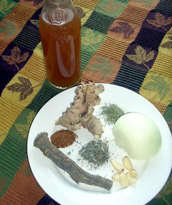El jard n de judith receta para fulminar un resfriado for Preparacion de jardines