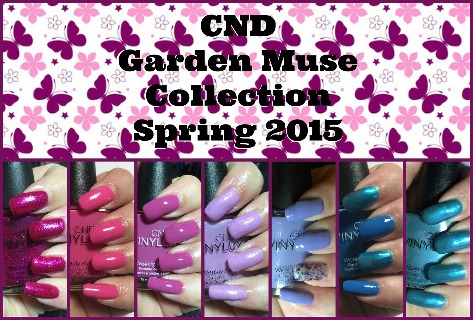 CND Garden Muse Collection Spring 2015