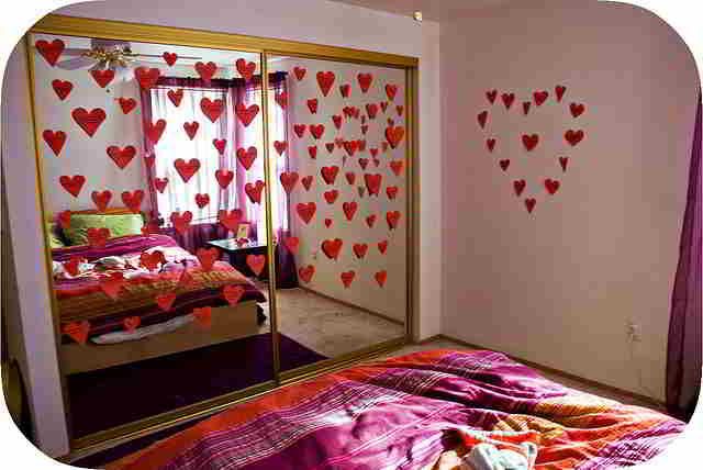 Home Show: Bedroom Decoration For Valentine's Day