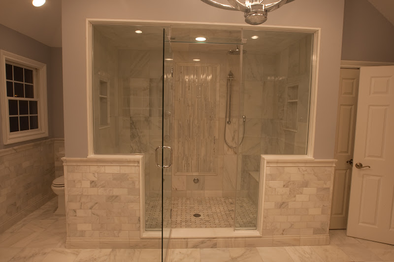 Beautiful The First Is From Bob In Our Commack, NY Store. He Designed This Hampton  Carrara Bath For His Client, Beautiful!