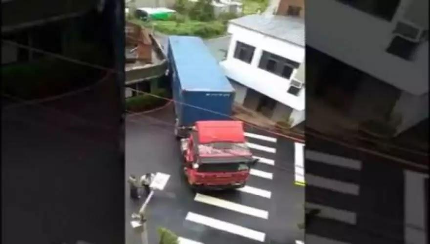 Ο απίστευτος φορτηγατζής από την Κίνα (βίντεο)
