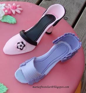 Sockerpasta skor