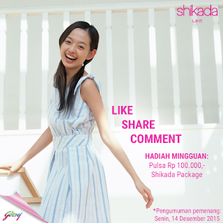 Info Kuis - Kuis Like, Share dan Koment Berhadiah Pulsa 100K dan special package Shikada Facial Wipes