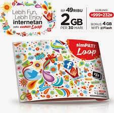 Simpati Loop, Kartu Perdana Telkomsel untuk Anak Muda