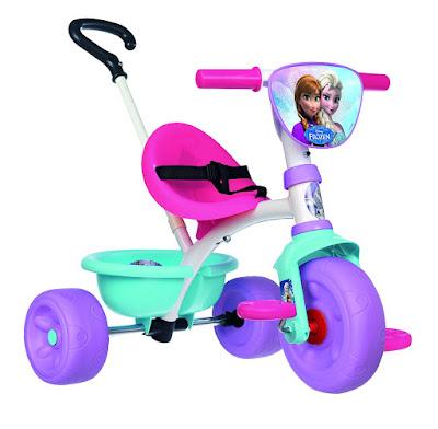 JUGUETES - DISNEY Frozen - Triciclo con palo y volquete  Producto Oficial Película 2015 | Smoby  Comprar en Amazon España
