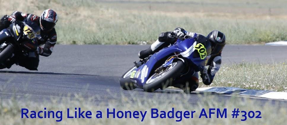 Racing Like a Honey Badger!
