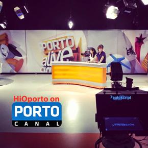 HiOporto on Porto Canal!
