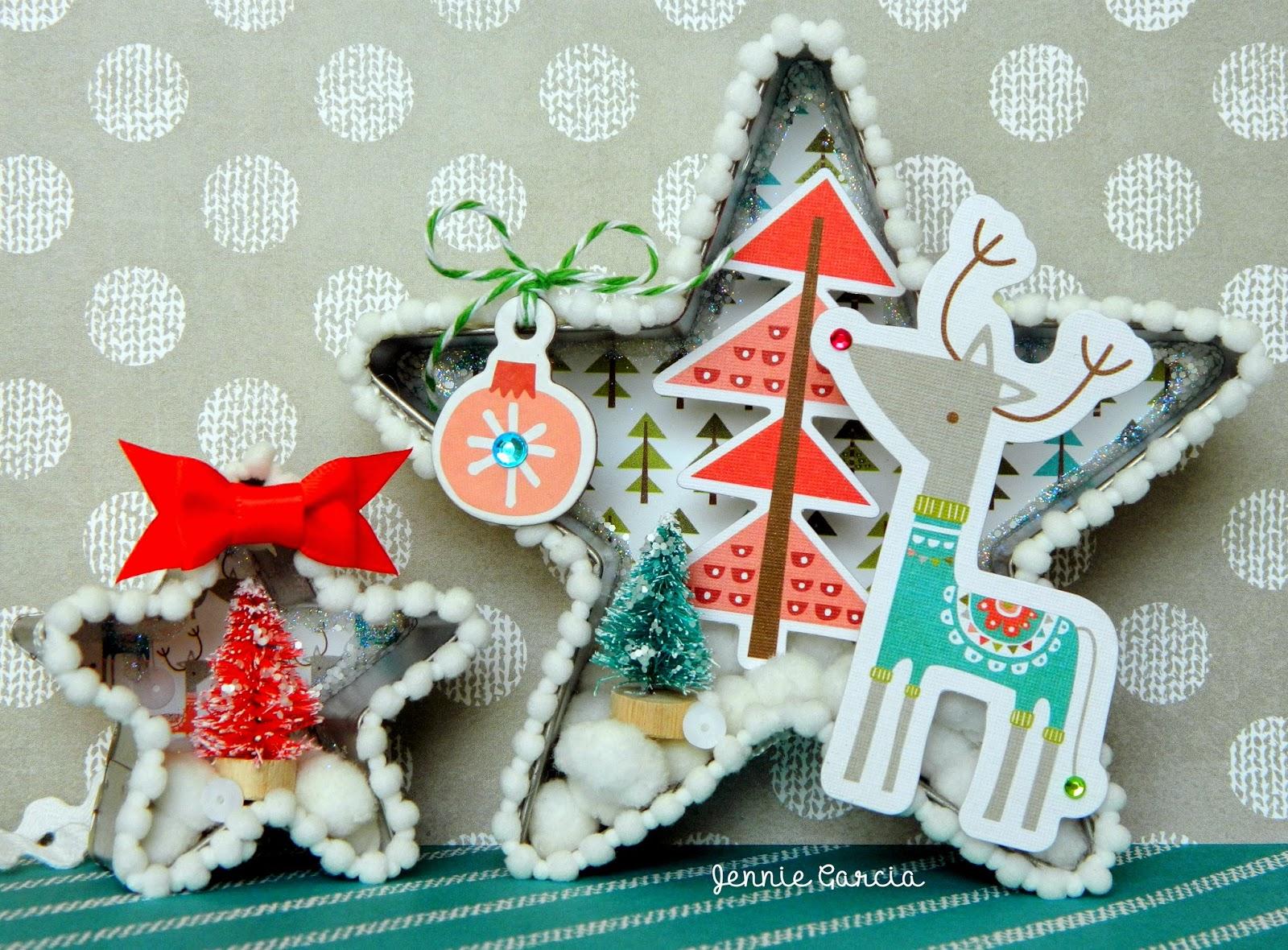 Christmas Ornaments by Jennie Garcia