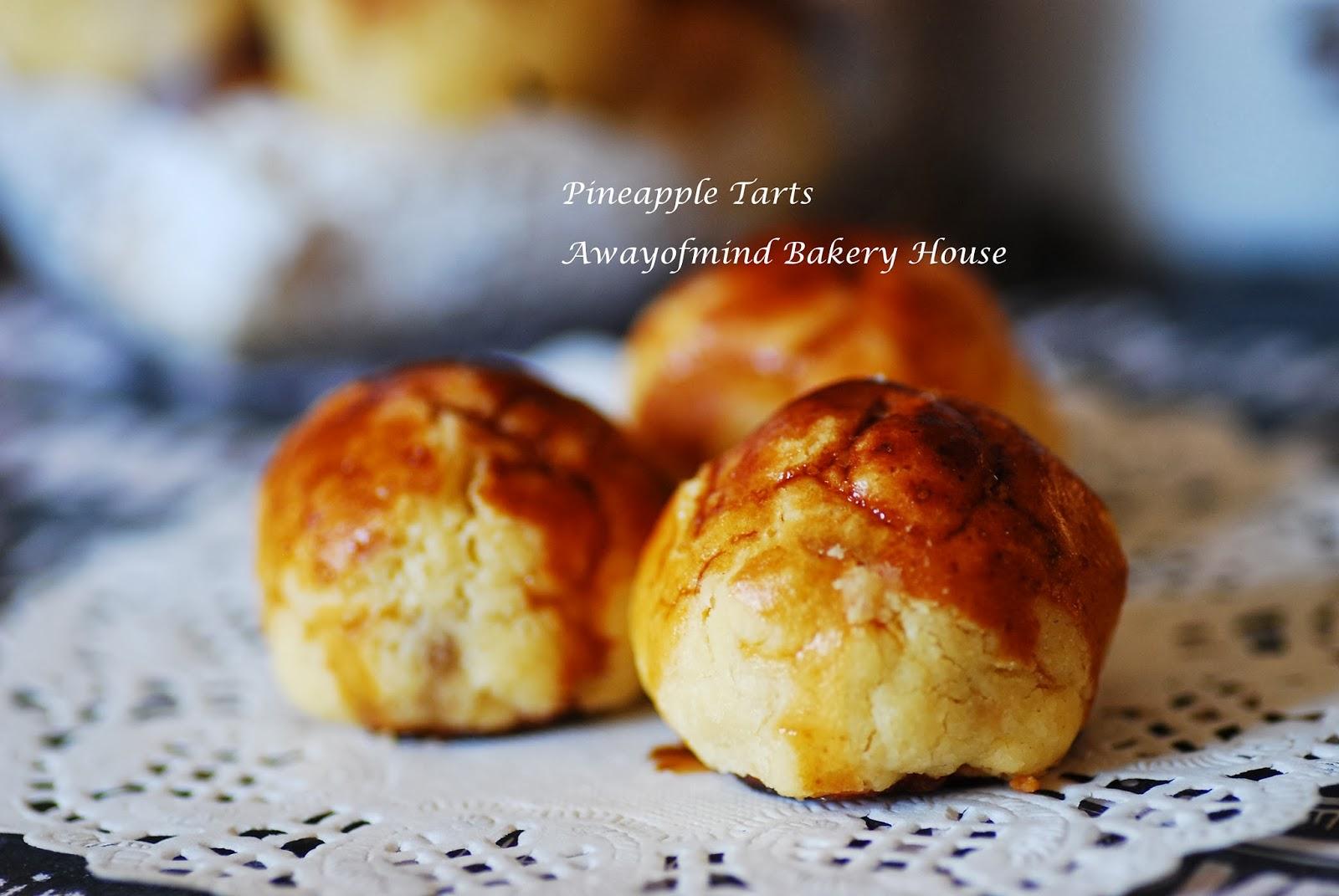 Awayofmind Bakery House: Homemade Pineapple Tarts and Jam 黄梨酥
