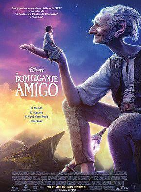 Filme Poster O Bom Gigante Amigo