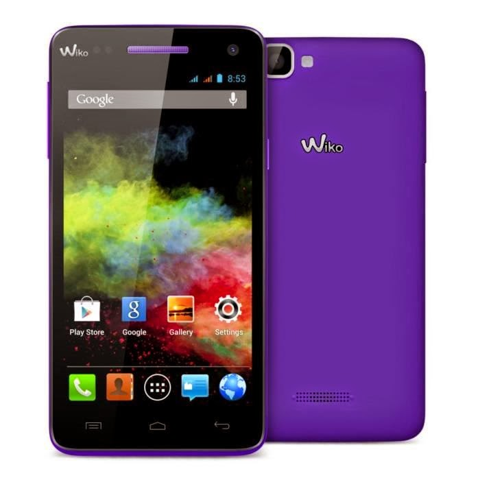Wiko RAINBOW Violet - Smartphone Wiko 5 Pouces