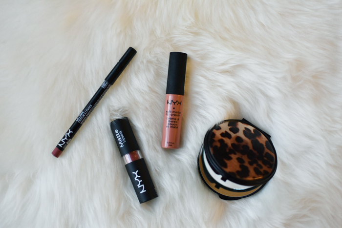 NYX cosmetics nude lip colors