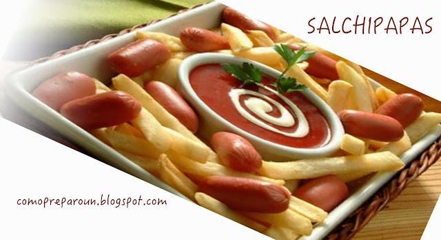Como preparo una salchipapas receta recetas de comida for Comida francesa popular