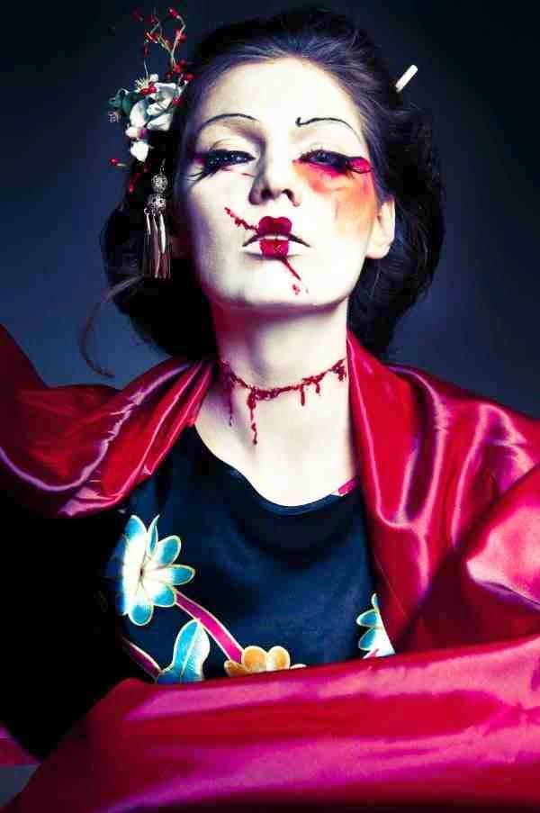 Geisha halloween costume