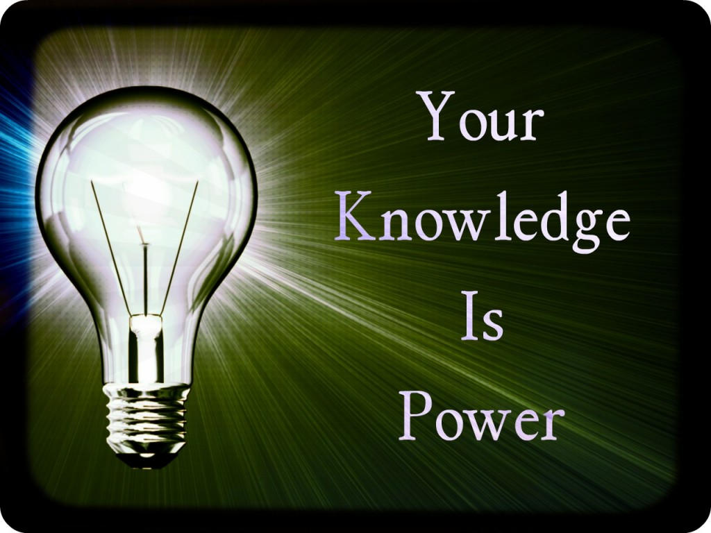 Essay knowledge is power