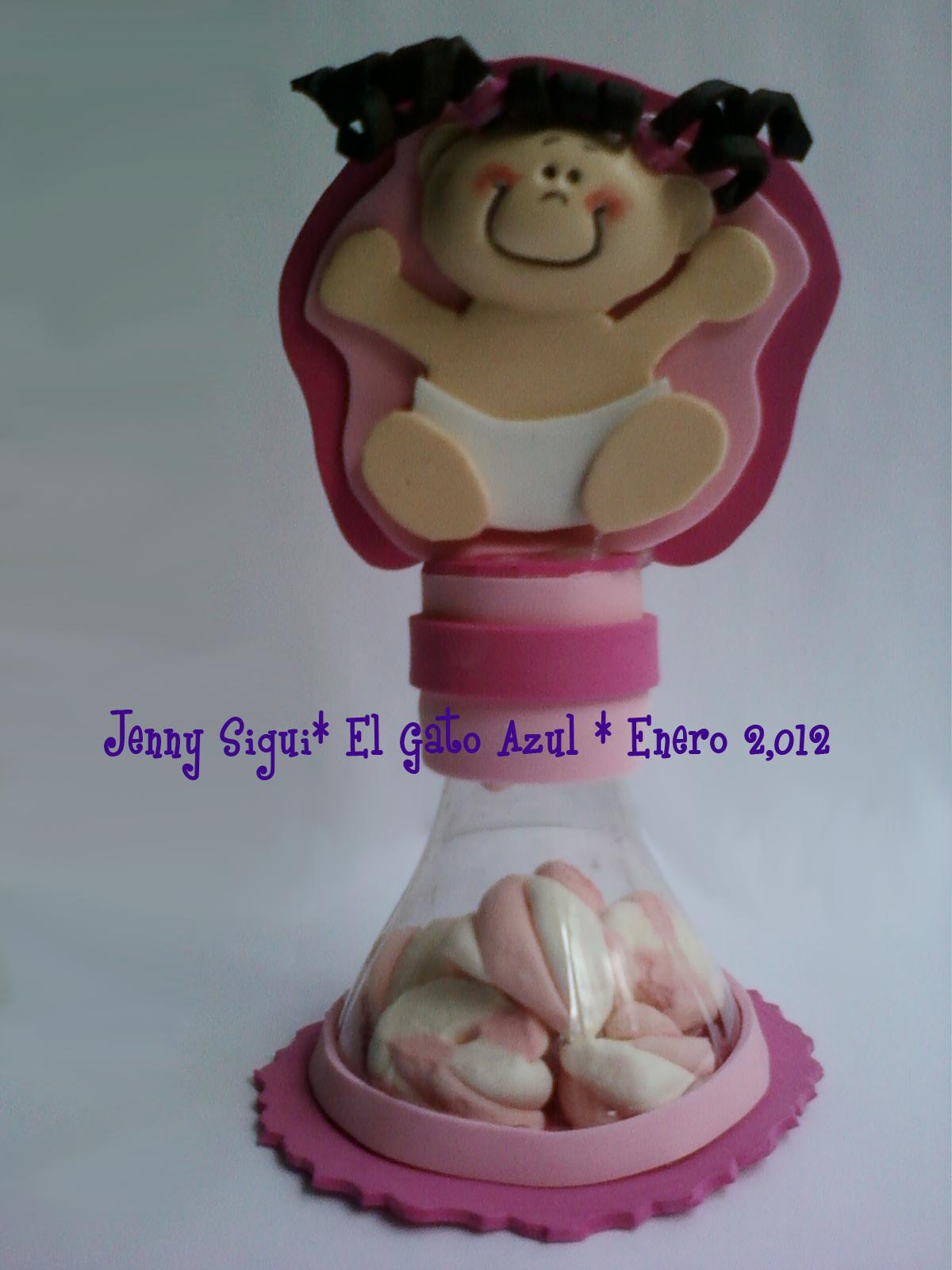 Recuerdo Para Baby Shower De Nina