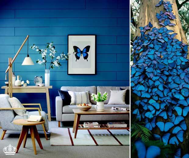decoracao de casamento azul escuro e amarelo : decoracao de casamento azul escuro e amarelo:Eita, Sou Dona de Casa: Qual o seu tipo de decoração?