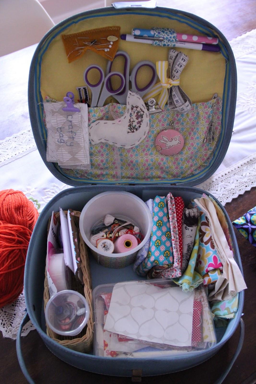 Рукоделие чемоданы