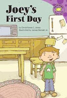 bookcover of JOEY'S FIRST DAY  (Read-It! Readers: Purple Level)  by Christianne C. Jones