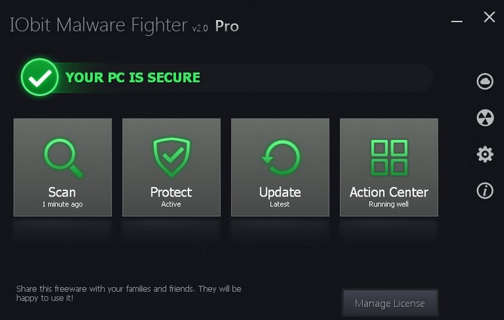 IObit Malware Fighter 3.4 Pro 1 year free license key download .IObit ...