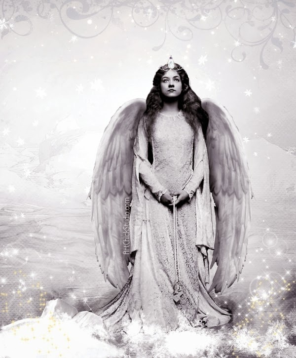 Snow Angel Digital Art