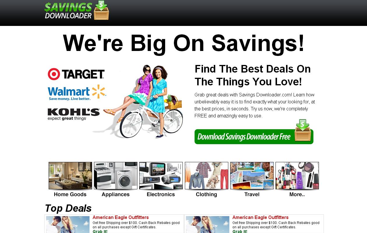 Savings Downloader