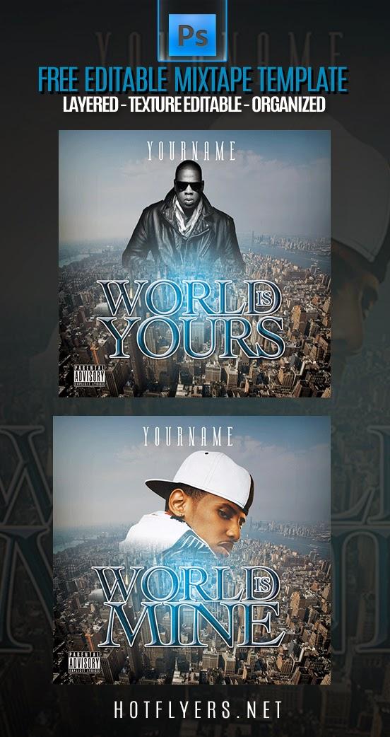 world mixtape template