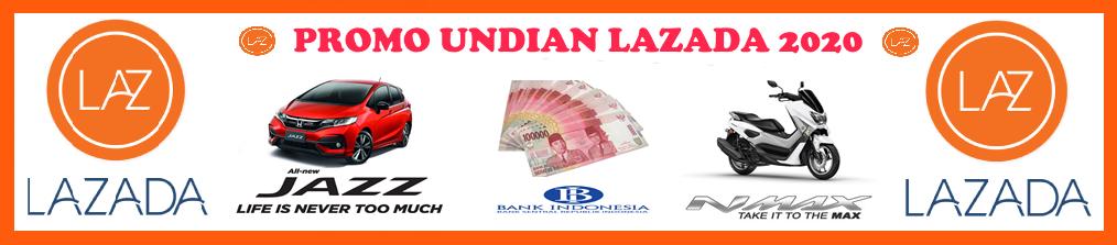 Promo Hadiah Pt Lazada Indonesia Tahun 2020
