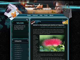 Money Tycoon Blogger Template