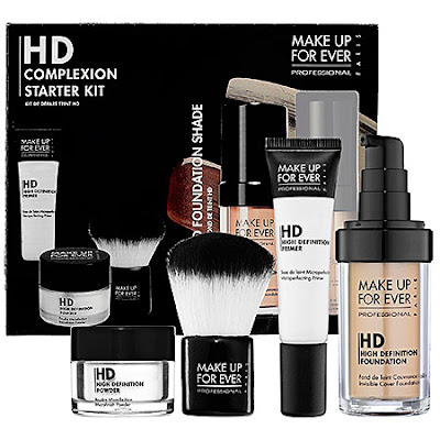 Make Up For Ever, Make Up For Ever Complexion Starter Kit, Make Up For Ever HD Invisible Cover Foundation, Make Up For Ever HD High Definition Foundation, Make Up For Ever HD Kabuki Brush, Make Up For Ever HD Microperfecting Primer, Make Up For Ever giveaway, beauty giveaway, A Month of Beautiful Giveaways