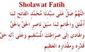 sholawat fatih, bacaan shalawat fatih, fadhilah shalawat, keutamaan shalawat