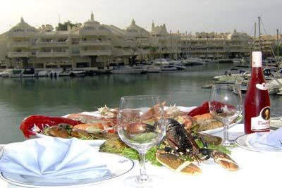 Yantaria comer en m laga - Los mellizos puerto marina ...