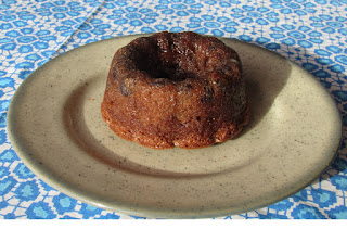 Pastelitos de calabacín y chocolate, receta