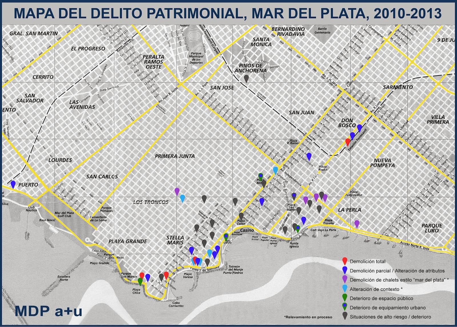 MAPA DEL DELITO 2010-2013
