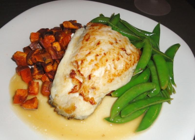 Blu aubergine recipe sano e semplice fish fillet for White fish fillet recipe