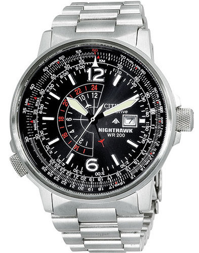 Top 5 Citizen Men's Watches For Summer 2013: Men's Citizen Nighthawk Watch