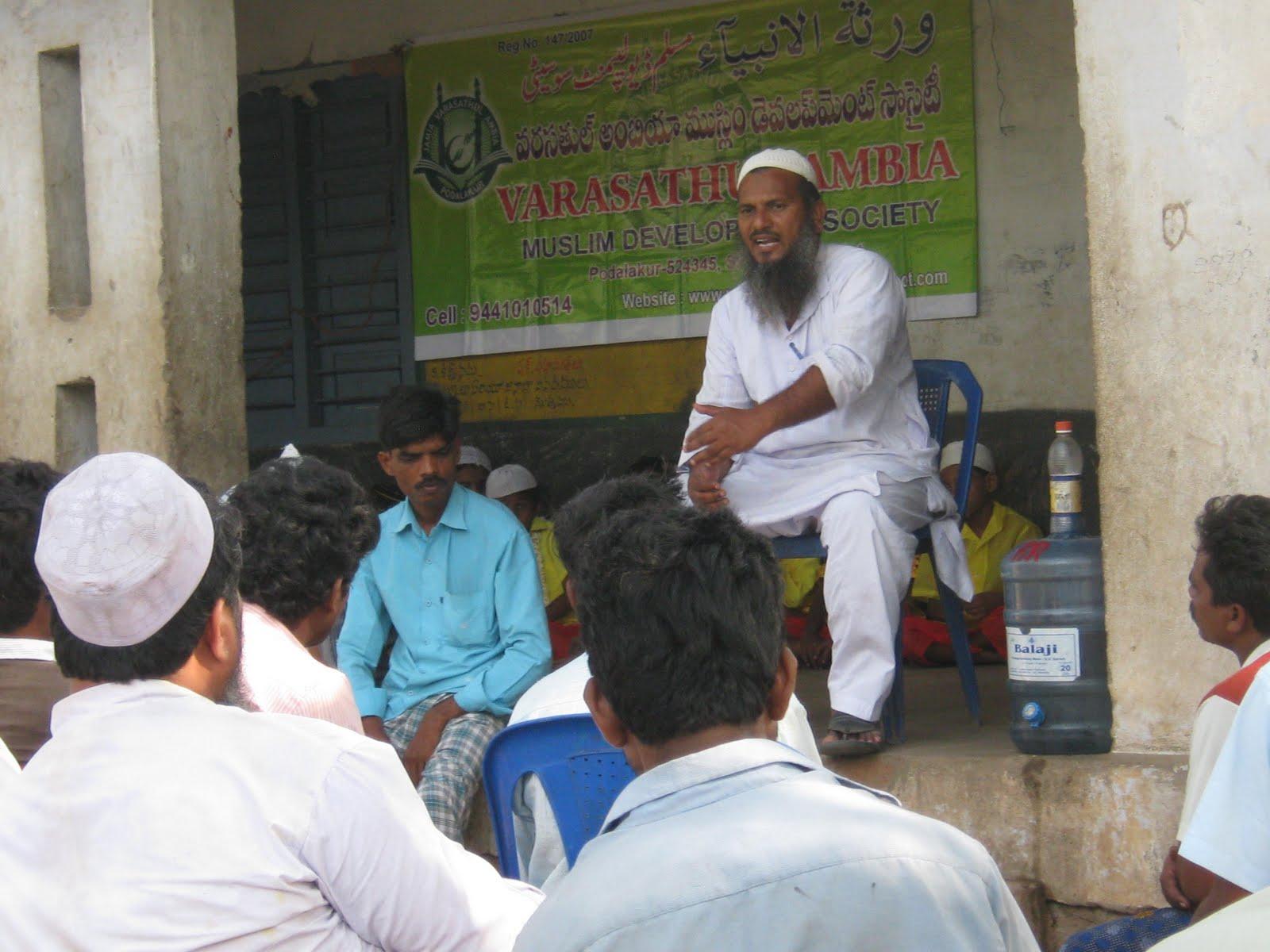 maulana khaleel sangami with poor children