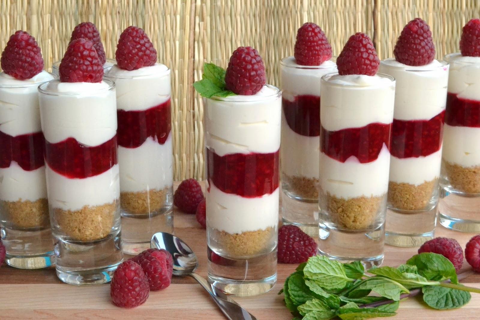 dessert and celebration ice cream dessert cake bramble jelly shots ...