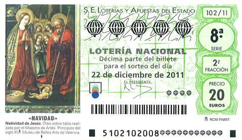 Lotería de Navidad 2011