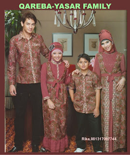 Gamis Sarimbit Pasangan Keluarga Muslim Baju Muslim