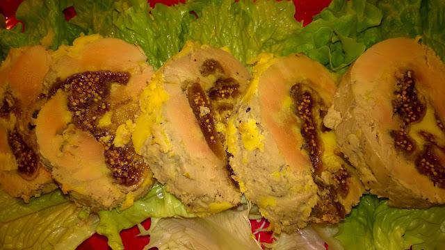 Foie gras farci aux figues (thermomix)
