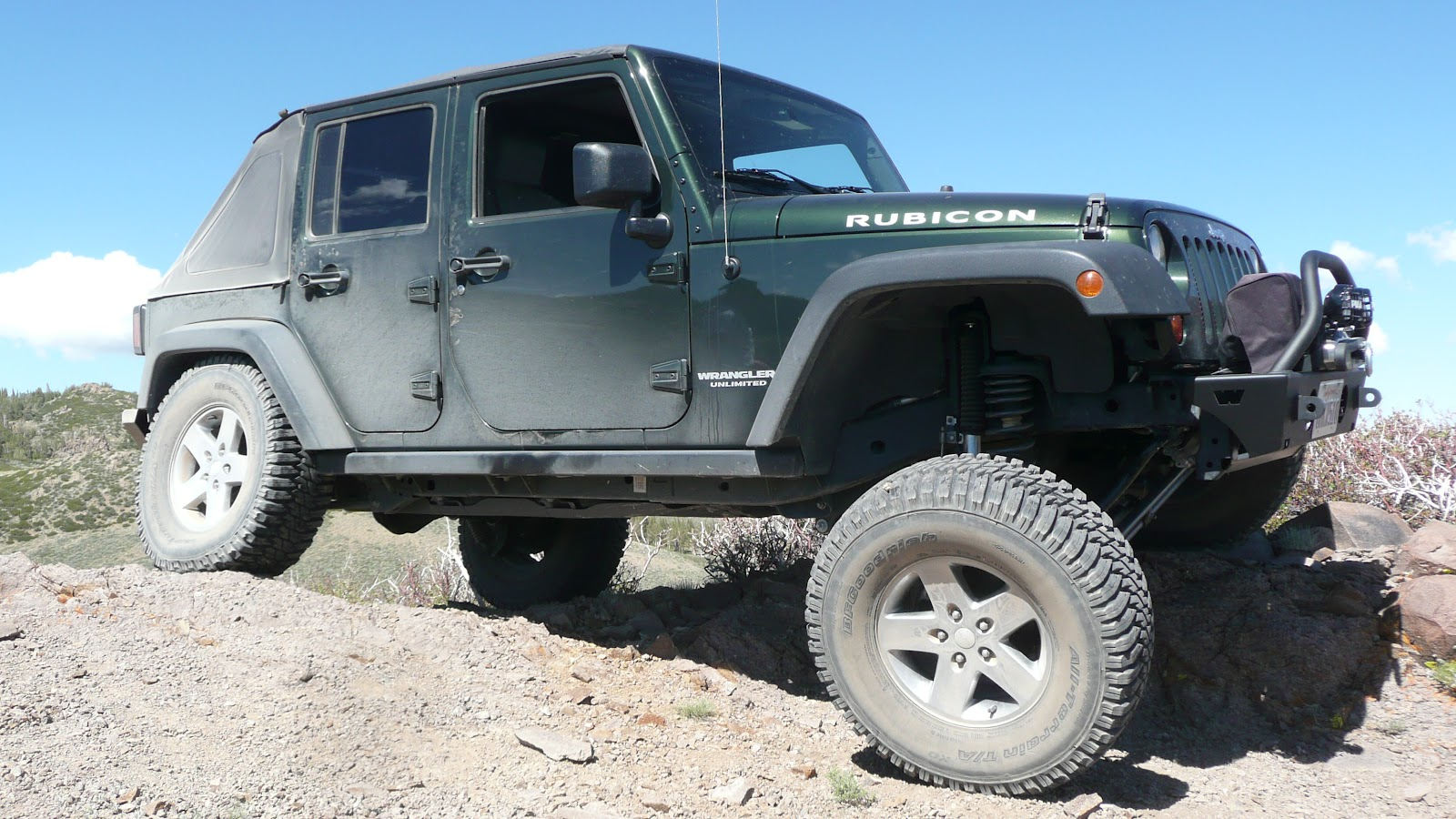 Rubicon4wheeler Choosing The Right Suspension System Rear As Well Jeep Wrangler Front Parts Diagram